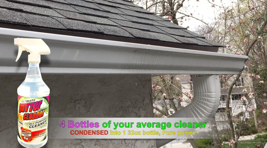 Gutter Cleaning How To Remove Stains Mildew And Streaks